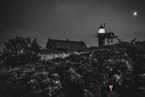 Vuurtoren van Vlieland bij nacht - Strand fotograaf